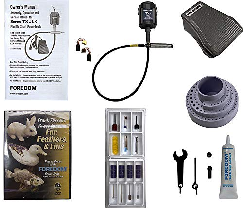 Foredom 5400 TX Motor, Woodcarving Kit