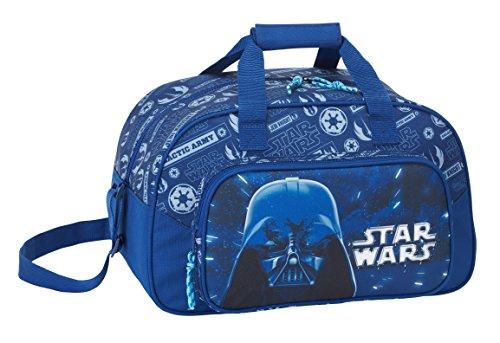 Star Wars 2018 Bolsa de Deporte Infantil, 40 cm, 22 litros, Azul Marino
