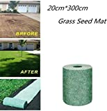 Biodegradable Seedless Grass Seed Mat, All-in-One Lawn Growing Solution, Grass Seed Mat, Bermuda
