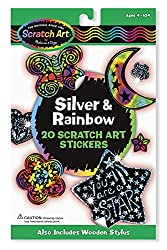 Scratch Art Stickers