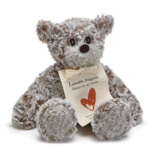 DEMDACO Loveable Huggable Mini Giving Bear Children's Plush Stuffed Animal Toy
