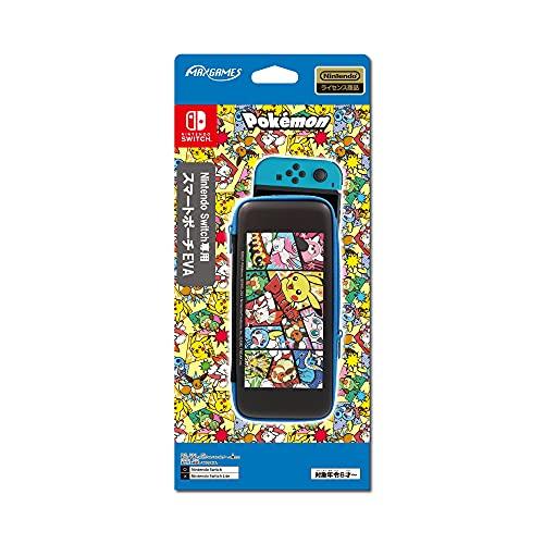 【任天堂ライセンス商品】Nintendo Switch専用スマートポーチEVA ポケットモンスター コミック