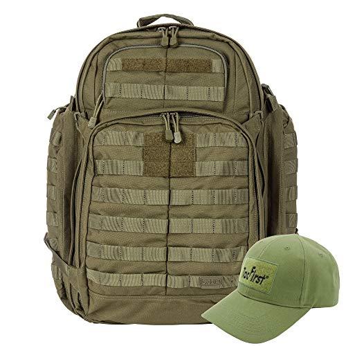 KLK Komplettpaket aus Rush 72 Rucksack und TacFirst Twill Cap (188 TAC OD)