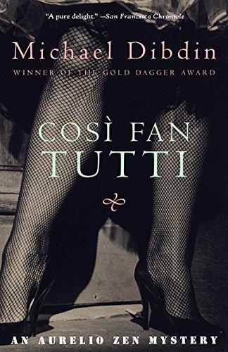Cosi Fan Tutti: An Aurelio Zen Mystery (Aurelio Zen Mystery Series, Band 5)