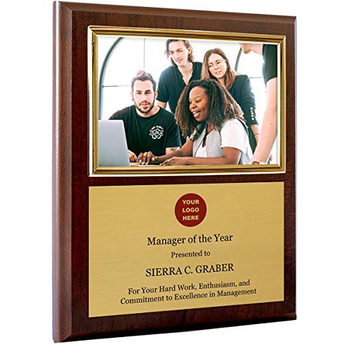 Personalized Photo Plaque Add Your Custom Text and Artwork Comes w/a...