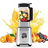 KTMAII Countertop Smoothie Blender, 1800W Professional High Powered Blender for Kitchen with 68oz BPA-Free Pitcher Blender for Juice, Ice Crushing, Frozen Fruits, Shakes and Smoothies, Silver
