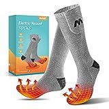 Jomst 3000mAh Heated Socks for Men Women up to 8-20 Hours of Heating