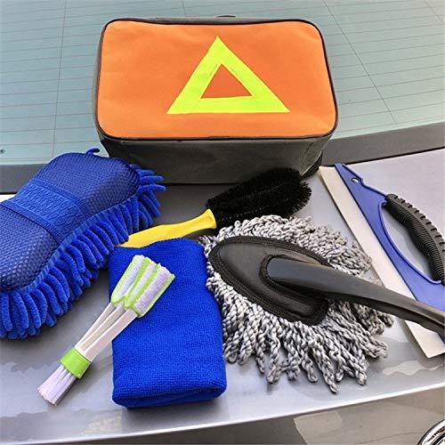 Durable 7 en 1 Herramientas Productos de limpieza for el lavado de autos