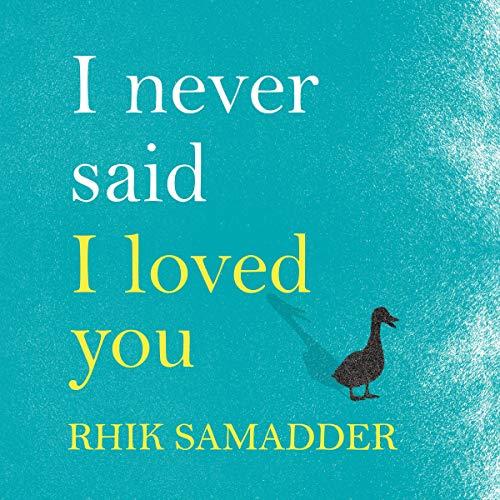 I Never Said I Loved You audiobook cover art