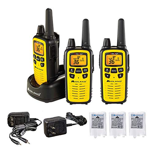 Learn More About Midland - LXT600VP3, 36 Channel FRS Two-Way Radio - Up to 30 Mile Range Walkie Talk...