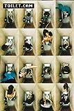 Poster Toilet.cam - Kamera auf der Toilette - Größe 61 x