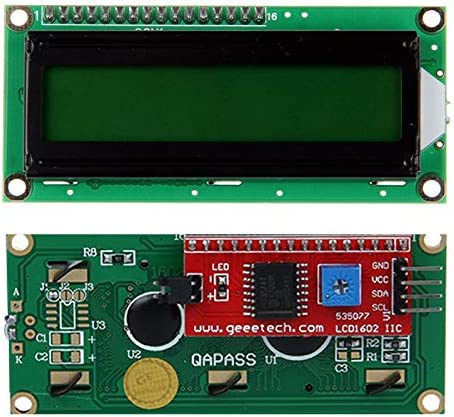 MANMANYU IIC/I2C/TWI 1602 Serial LCD Module Display for 3D Printer Or Other DIY Project Printer Accessories