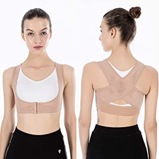 Posture Corrector for Women and Men - Posture Correction & Posture Support ,Fits Nice Under Clothes for Neck Shoulders and...