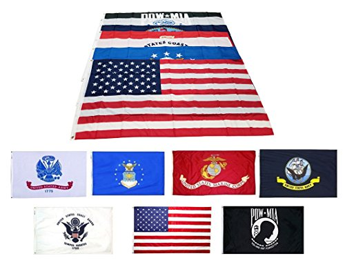 United States US Army 5/'x3/' HEAVY-DUTY NYLON Flag