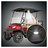 10L0L Universal Golf Cart Dome Light, Wireless Lighting USB Rechargeable LED Touch Roof Light with Timer