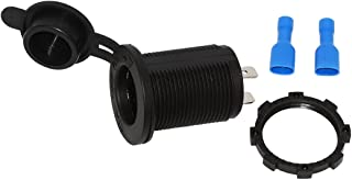 Cigarette Lighter Socket 12V Lighter Power Supply Outlet Adapter for Car Boat Motorcycle Scooter Riding Mower Tractor