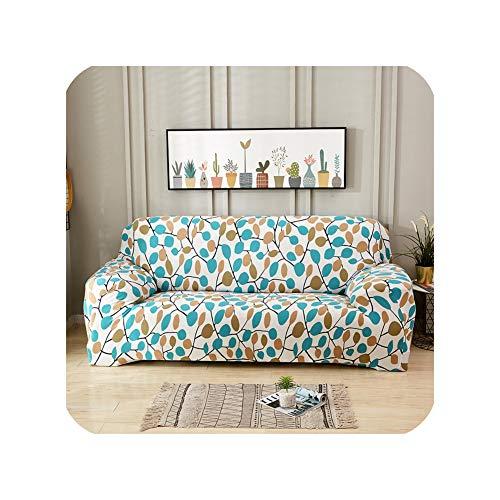 NNNN Muster Design Universal Stretch Sofabezüge Sectional Cover Fall Wohnzimmer Couch Schonbezug Elastische 1/2/3/4 Sitzer 2 A-B 235-300Cm