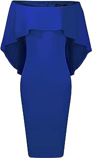 Best off the shoulder cape dress Reviews