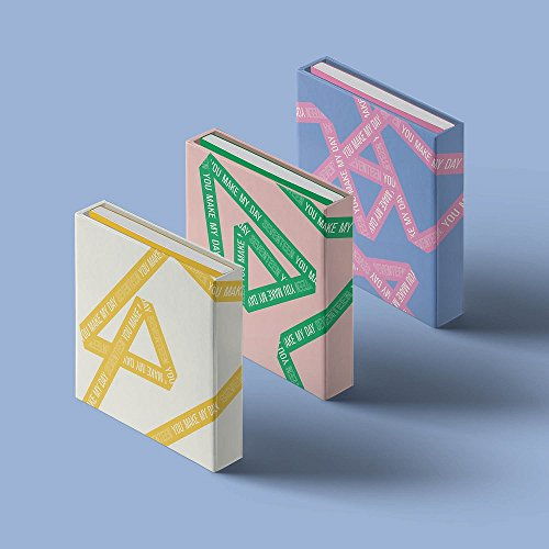 Pledis Entertainment Seventeen - You Make My Day [Random Ver.] (5th mini album) CD+fotobook+lyrics papier + fotokaarten + folded poster + gratis gift