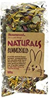 a blend of carrot slices, pea flakes, ribwort, marigold, sunflower petals, dandelion, hibiscus blossoms and rose petals can be fed daily to enrich your pets diet extra deep base for deep filling with litter so pets can tunnel and burrow ideal for rab...