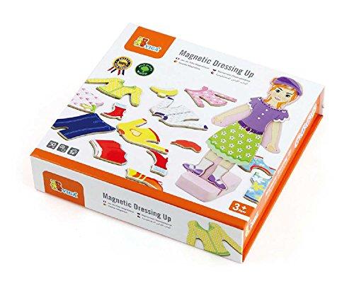 Viga Toys - 59652 - Jouet De Premier Age - Jeu Magnétique - Vêtements De Fille