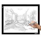 AGPTEK A3 Tableta de Luz, Drawing Pad Ultradelgada, Mesa de Luz de Dibujo LED con...