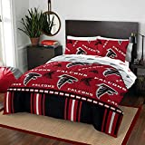 The Northwest Company NFL Atlanta Falcons Rotary Queen Bed in a Bag Set, red, Queen