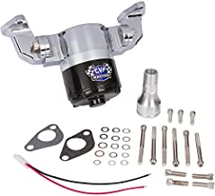 Chevy Small Block Electric Water Pump - 35 GPM, Chrome Aluminum, 283, 327, 350, 400, SBC