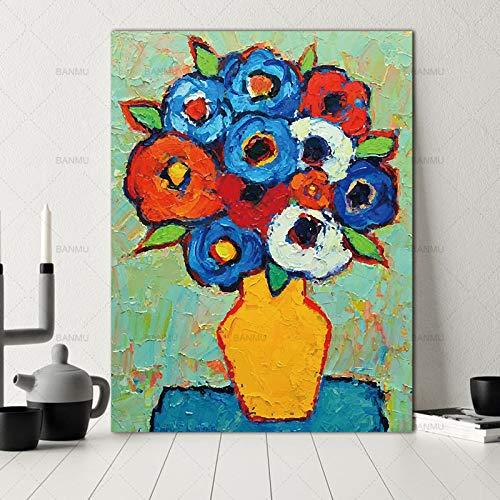 Poster Picture Wall flower Canvas Painting decor poster painting Wall art art prints on Picture decoración del hogar