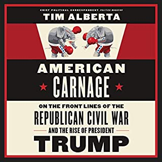 American Carnage audiobook cover art