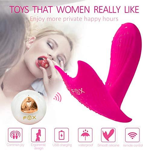 N / A Tragbarer Ví'bratór mit Fernbedienung B'uttërfly Ví'bratór Frauen Adullt Spielzeug G -S-Potter Vibrant Wireless-Msságërr für Wome