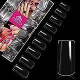Lot de 500 faux ongles en acrylique - Forme carrée -...