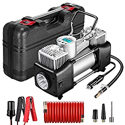 Best portable air compressor for tires reviews