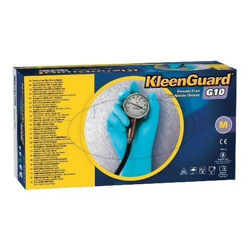 Kimberly OFFicial store Limited time cheap sale Clark Safety 57373 Nitrile Large G10 Gloves Kleenguard