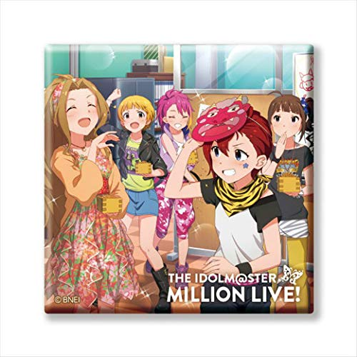 【M@STER SPARKLE 06】 アイドルマスター ミリオンライブ! トレーディングCDジャケット缶バッジ