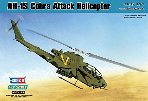 Hobby Boss 87225 Modellbausatz AH-1S Cobra Attack Helicopter