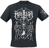 Photo de Marduk Serpent Sermon Homme T-Shirt Manches Courtes Noir XXL, 100% Coton, Regular/Coupe Standard