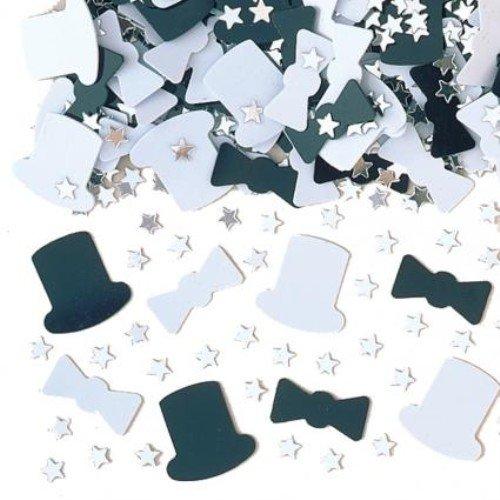 Confettis de table Smoking