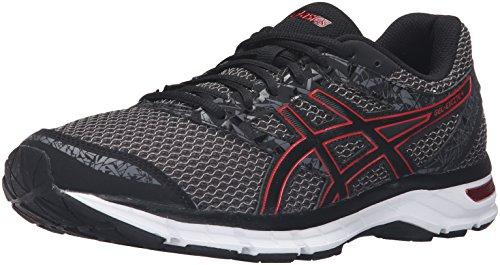 ASICS Men's Gel-Excite 4 Running Shoe, Black/True Red/Carbon, 11.5 M US