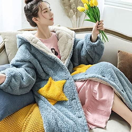 Manta de con Mangas,Manta con capucha para usar, súper suave y cálida manta con capucha de lana con mangas gruesas para mujeres y hombres, cómodas y esponjosas mantas para el hogar(Color:Color 5;Si