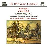 Symphonies B Flat Major D Minor & G Major 2