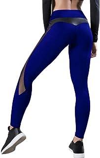 Women Leggings Sexy Pants, Push Up Fitness Gym Leggins Running Mesh Leggins, Seamless Workout Pants Femme High Waist Activ...