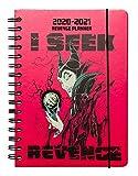 ERIK - Agenda escolar 2020/2021 A5 Semana vista Disney Villanos, anual (14,8x21 cm)