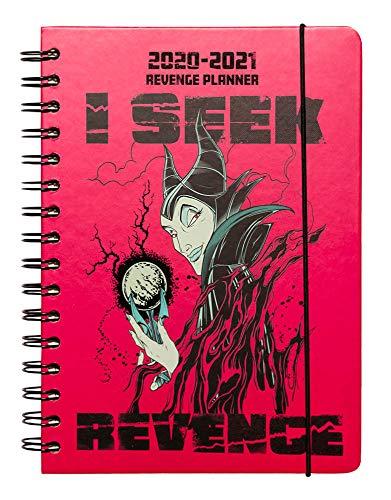 ERIK - Agenda escolar 2020/2021 A5 Semana vista Disney Villanos, anual...