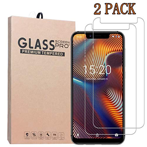 [2-Pack] SHENGSHUO Screen Protector for UMIDIGI A3 PRO,Premium Quality Tempered Glass Protective Film 0.33mm Anti-Bubble Shield 9H Hardness Clear Scratch Resist Bubble-Free Anti-Fingerprint
