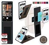 Hülle für Doogee X20L Tasche Cover Case Bumper | Braun