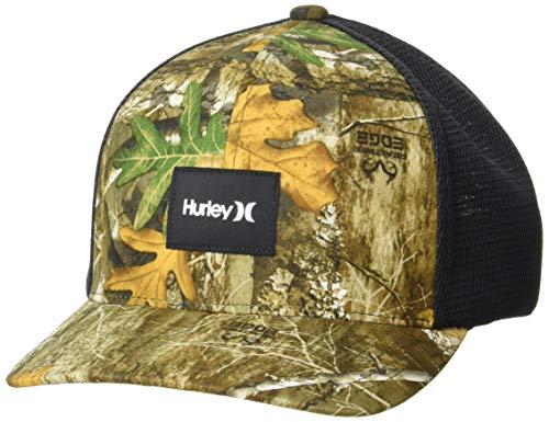 Hurley Men's Phtm-OAO Realtree Hat Edge Camo L/XL