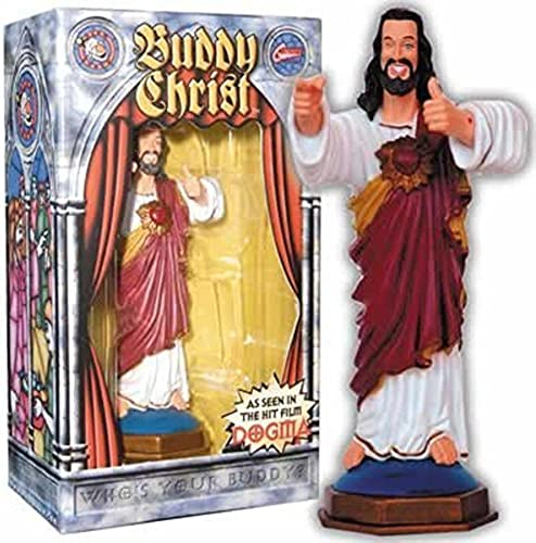 Buddy Christ Dashboard Figure Dogma Kevin Smith Movie Christmas Wink Statue by MyPartyShirt