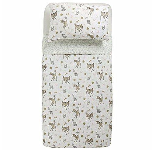 Tesco Stores Ltd Disney Bambi and Thumper Single Duvet Cover & Pillow Case Bed Set