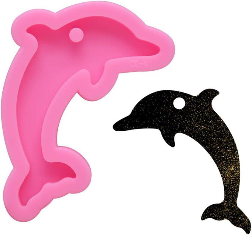 Handmade Dolphin SALENEW very popular Butterfly MOM Easy-to-use Keychain Mold Resin Pendant Jewel